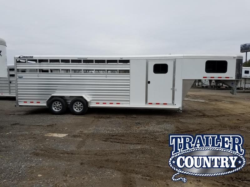 Cimarron Lonestar 24' Stock Trailer with Front TACK