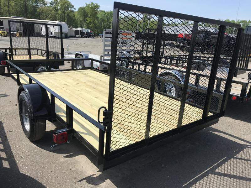 77x12 Precision Utility Trailer-CLEARANCE