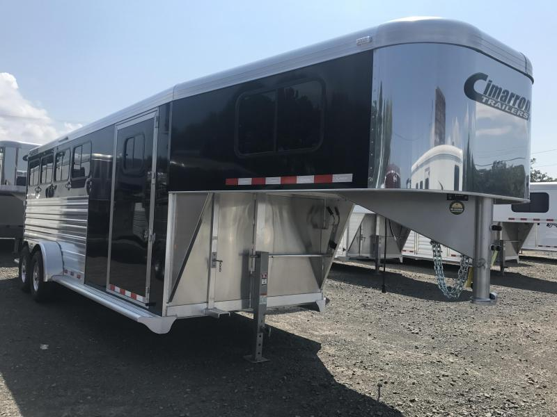 Cimarron Norstar 4 Horse Slant  Trailer WITH FRONT AND REAR TACK