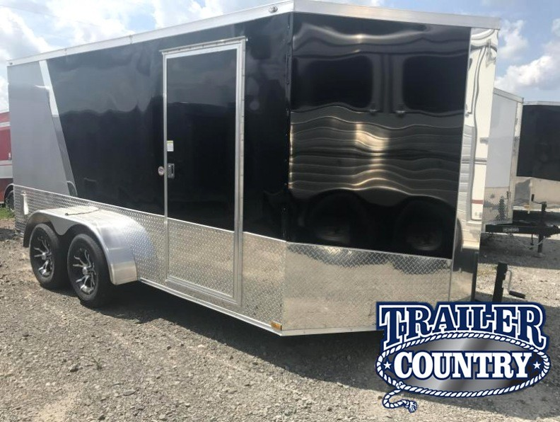 7x14 Enclosed Motorcycle Trailer-Finished Interior Package