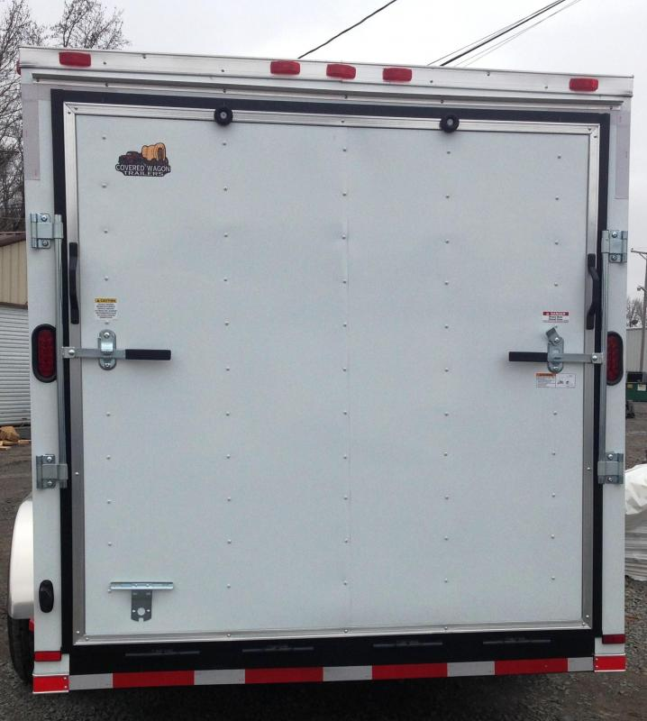 7x16 XXL Cargo Trailer-7K Axles-CLEARANCE