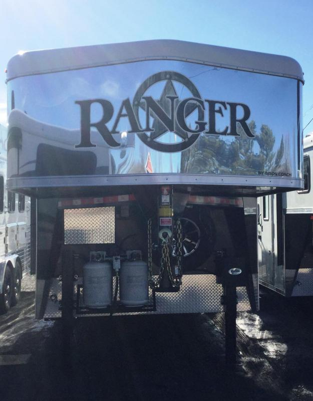 2017 Bison Trailers 2017 BISON 8313RGGB RANGER WITH GALLEY BAR Horse Trailer