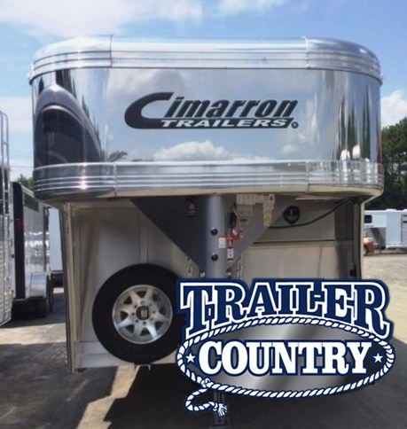 2018 CIMARRON 29' STIERWALT SERIES STOCK COMBO WITH FRONT TACK AND SIDE RAMP