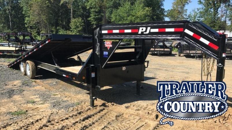 96x26 PJ Gooseneck Equipment Tilt Trailer