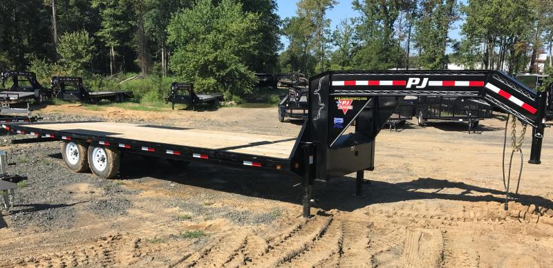 96x26 PJ Gooseneck Equipment Tilt Trailer