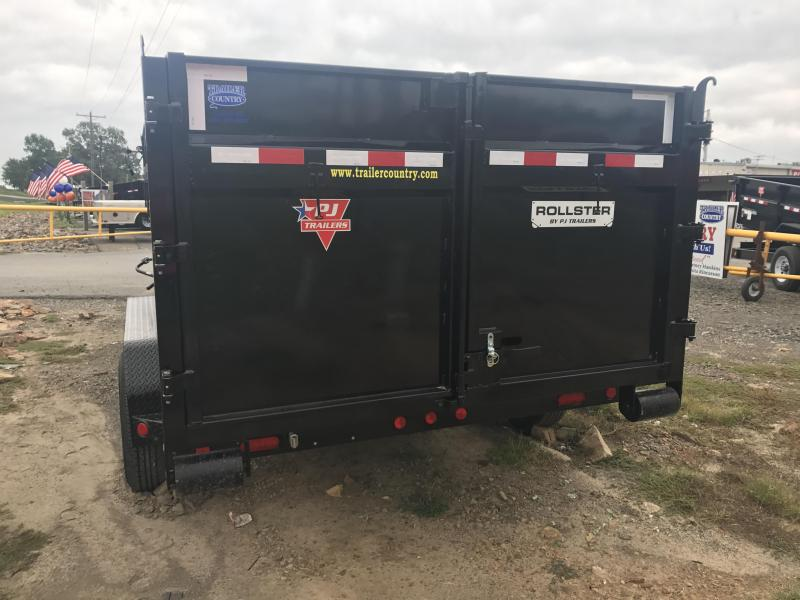 PJ Rollster Roll Off Dump Trailer-Bins Sold Seperately