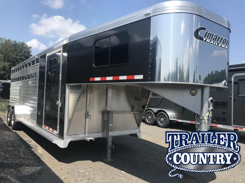 Cimarron 24'  Lonestar Stock Trailer with Front Tack