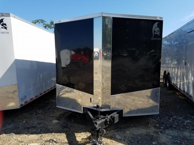 8.5x24 Enclosed Carhauler Trailer-5200lb Axles-