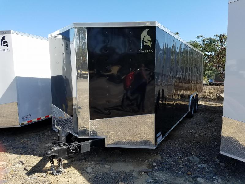8.5x24 Enclosed Carhauler Trailer-5200lb Axles-