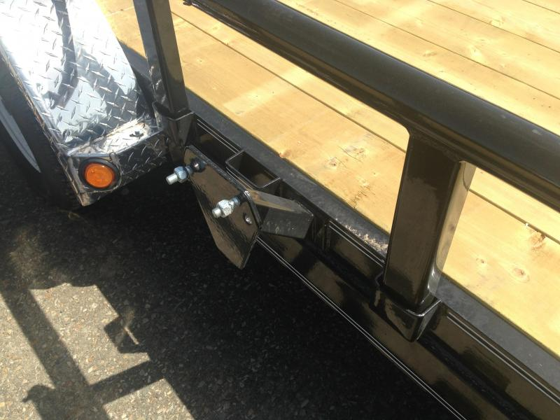 83x18 PJ Utility Trailer-Rear Ramps-Pipetop