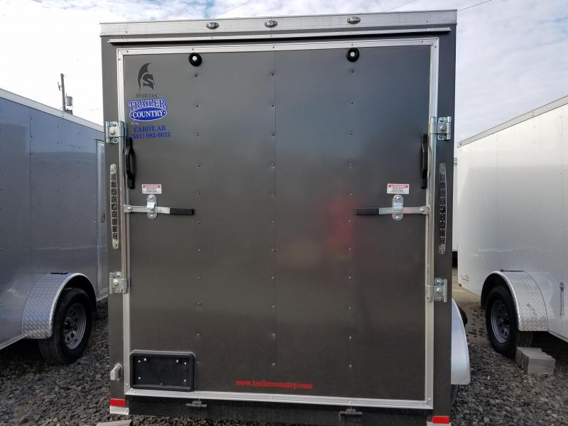2018 Spartan 6x12TA Spartan Cargo Enclosed Cargo Trailer