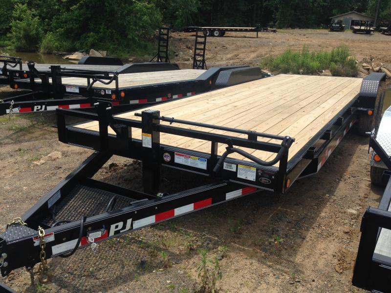 83x24 PJ Equipment Trailer-Slide In Ramps