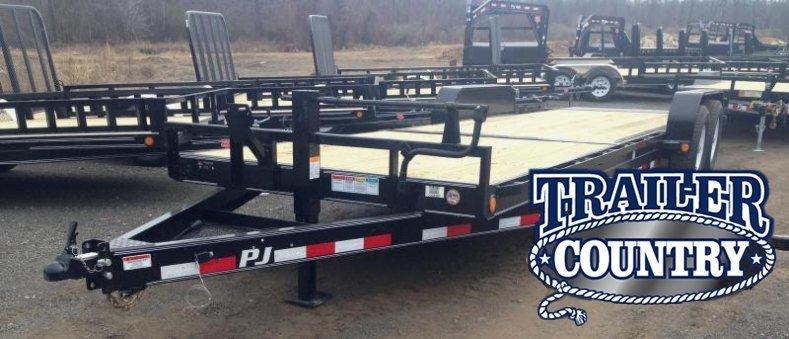 83x24' PJ Equipment Tilt Trailer-7K Torsion Axles
