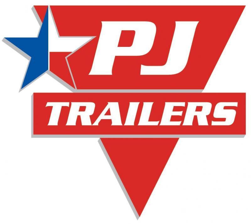 83x24 PJ Equipment Trailer-7K Axles-Fold Up Ramps