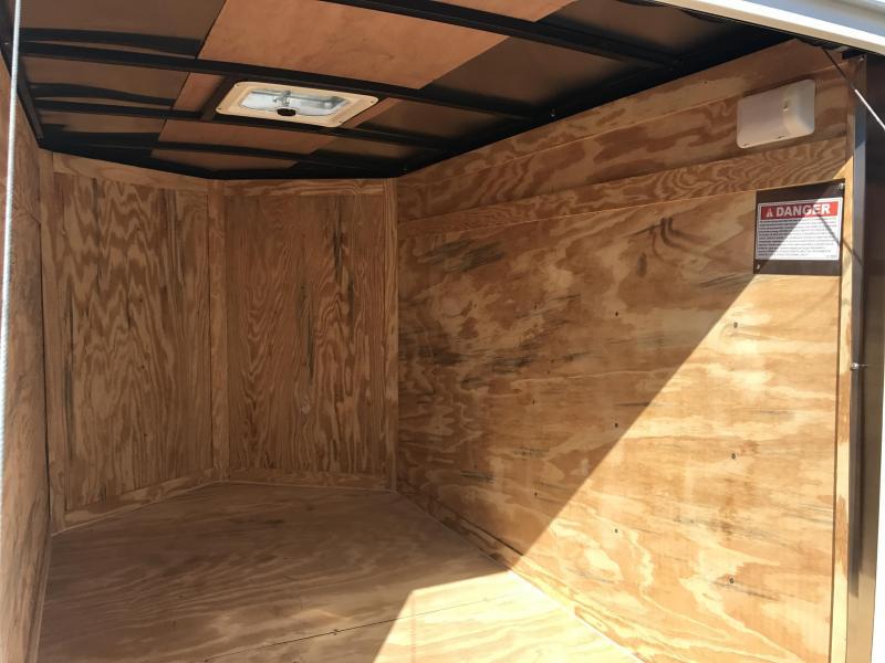 5x8 Enclosed Cargo Trailer-Ramp Door-5' Height