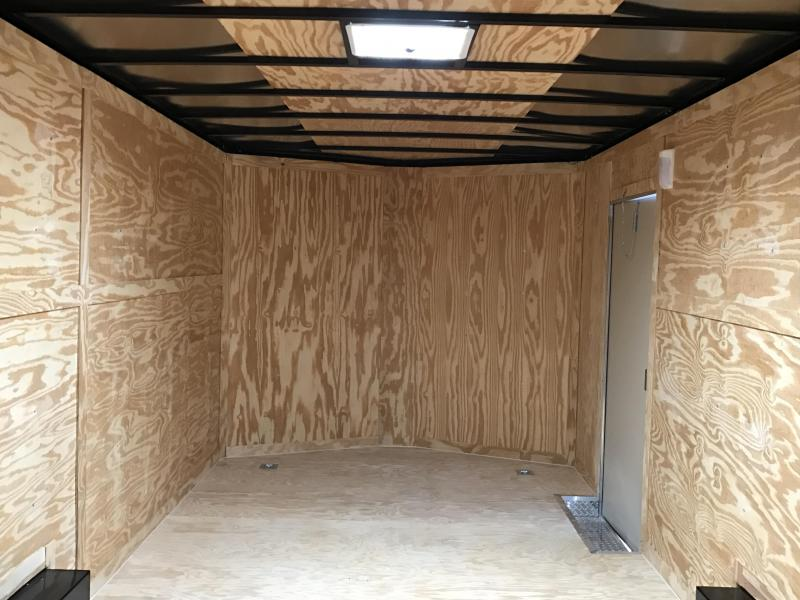 8.5x20 XXL Enclosed Cargo Trailer-7K Axles