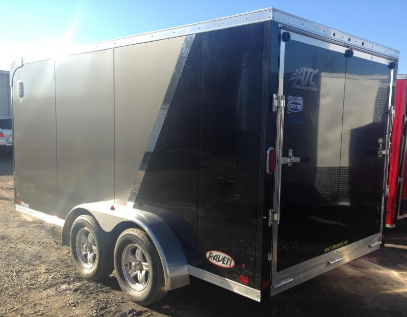 7x14 Aluminum Enclosed Motorcycle Trailer-CLEARANCE