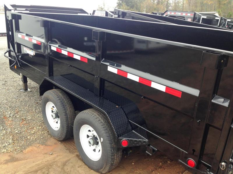 83X14 Gooseneck PJ High Side Dump-3' Sides-CLEARANCE