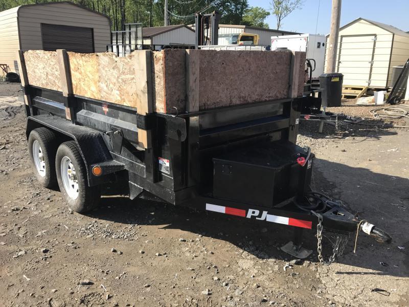 USED 5x10 PJ Dump Trailer