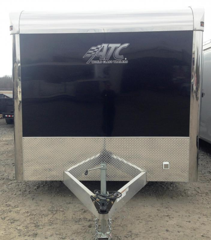 8.5x24 Aluminum Enclosed Carhauler Race Trailer-CLEARANCE
