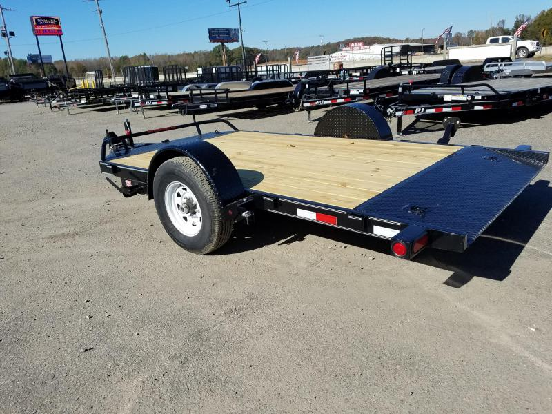 13' Single Axle HD Tilt-7k Drop Axles with Brakes