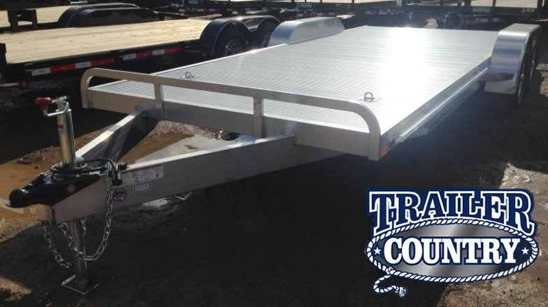 82X20 All Aluminum Car Hauler Trailer-Torsion Axles-CLEARANCE