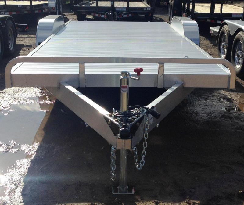 82X20 All Aluminum Car Hauler Trailer-Torsion Axles-CLEARANCE