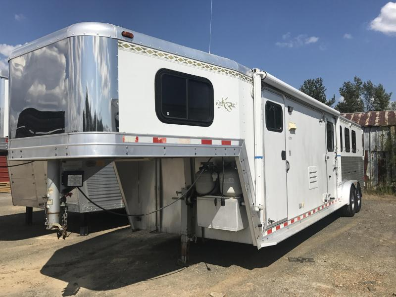 2002 Kiefer Built X480 4H LQ Horse Trailer