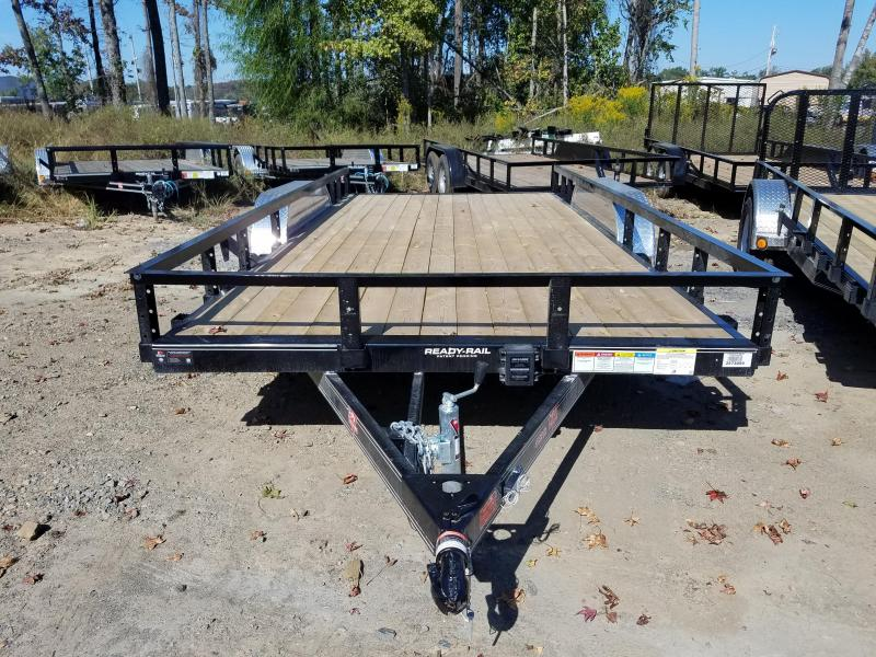 83x16 PJ Utility Trailer-Slide In Ramps