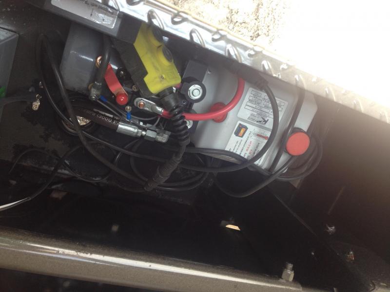 83X14 Gooseneck PJ High Side Dump-4' Sides-Tarp Included