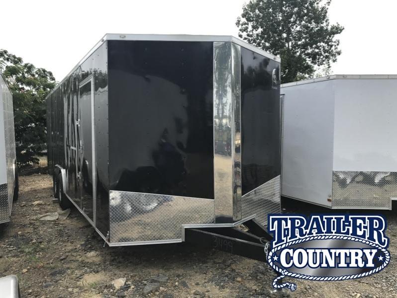 8.5x24 HD Enclosed Cargo Trailer-7K Axles-Ramp Door