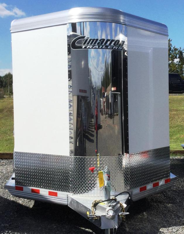 2018 Cimarron Trailers NORSTAR 3H BUMPER PULL WITH FRONT TACK Horse Trailer