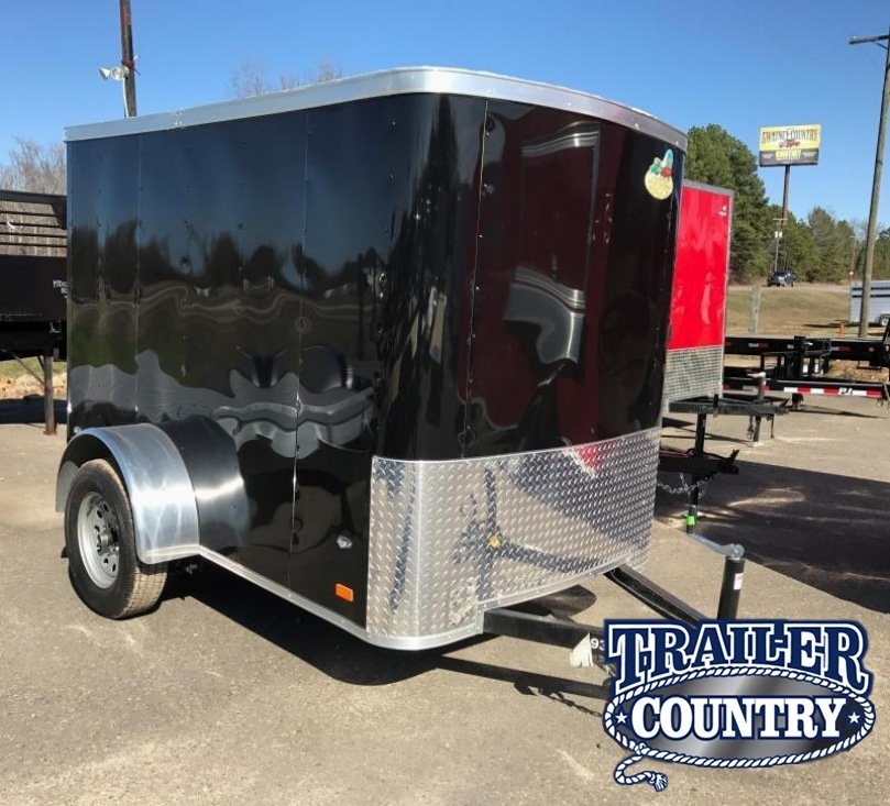 5x8 Enclosed Cargo Trailer-Ramp Door-CLEARANCE