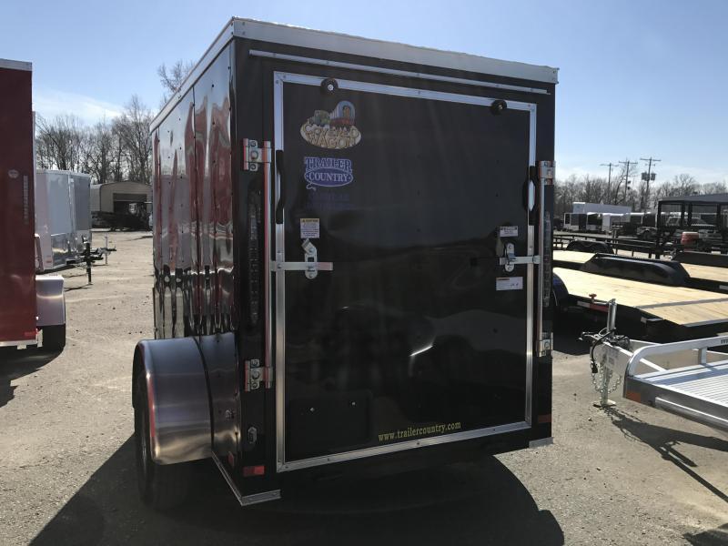 5x8 Enclosed Cargo Trailer-Ramp Door-CLEARANCE