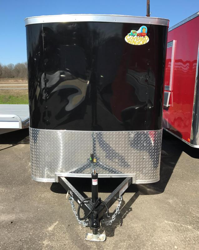 5x8 Enclosed Cargo Trailer-Ramp Door