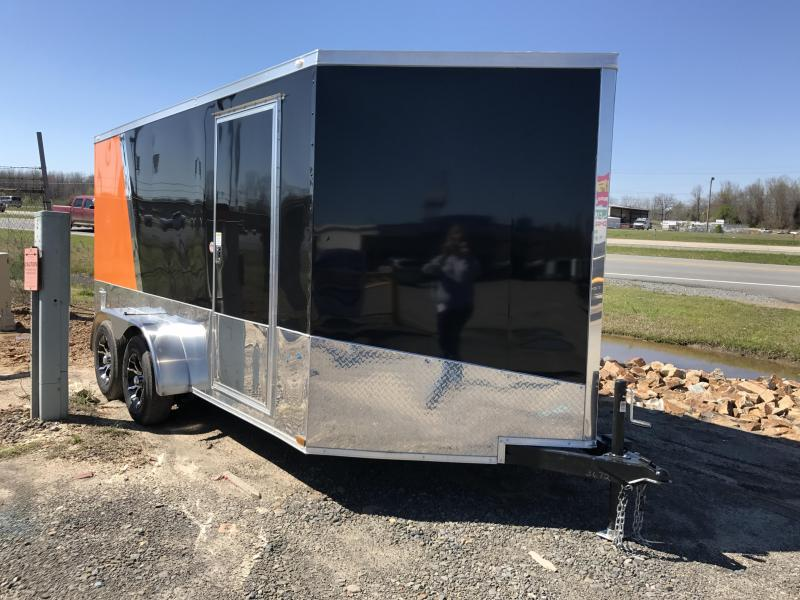 7x14 Enclosed Motorcycle Trailer
