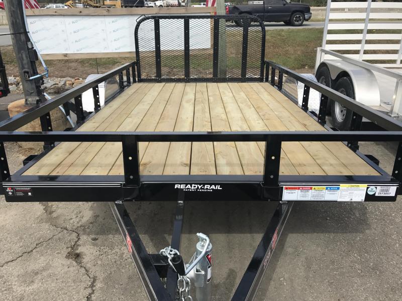 77x12 PJ Utility Trailer-Dovetail-Rear Gate