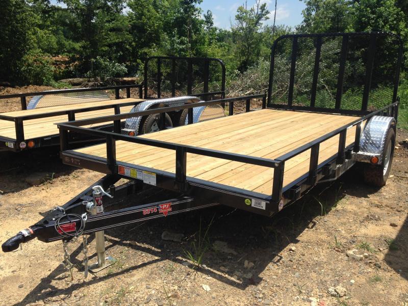 83x14 PJ Utility Trailer-Rear Gate-CLEARANCE