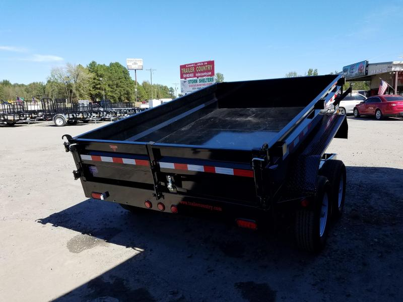78x10 PJ Dump Trailer 5200 lb axles Split Gate No Ramps