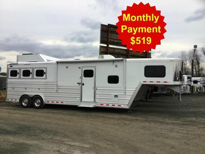 2016 CIMARRON 3H Norstar with Trail Boss Living Quarters****OR BEST OFFER