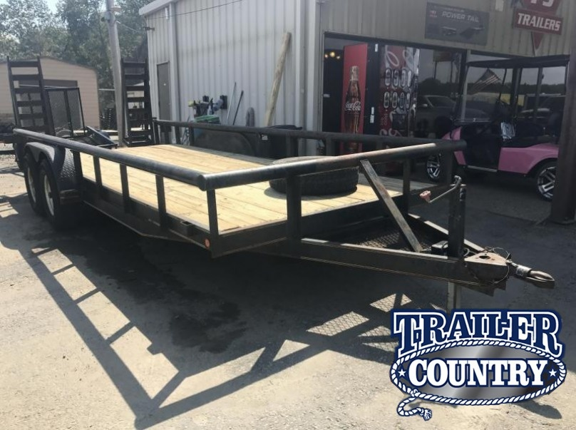 USED 83x20 Pipetop Equipment Trailer