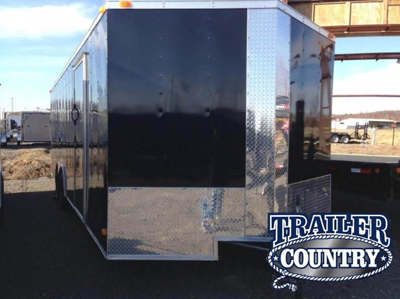 8.5x24 Enclosed Car Hauler Trailer-CLEARANCE