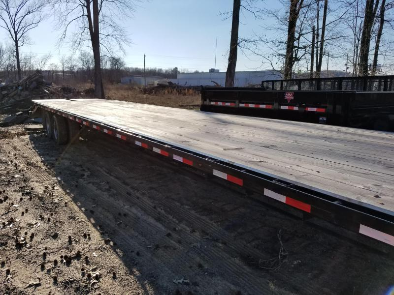 2015 Load Max 102x40 GN Flatbed Trailer