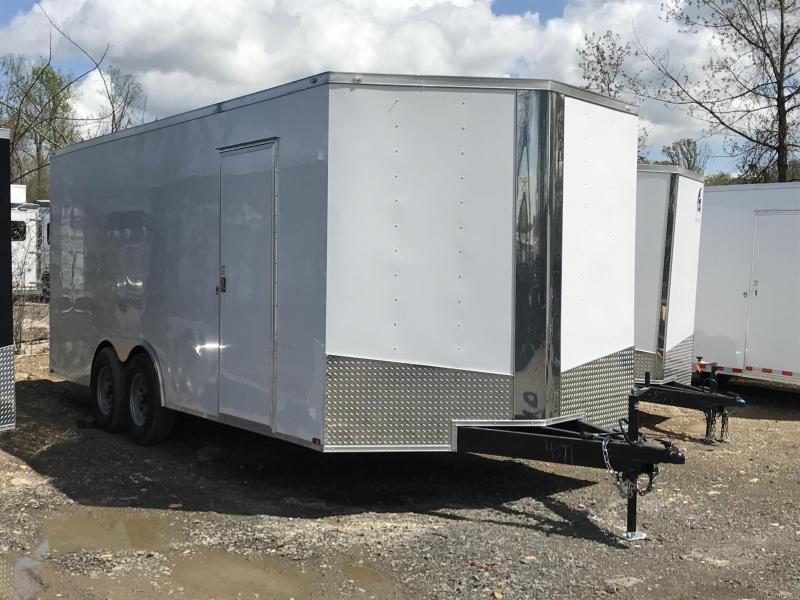 8.5x20 HD Enclosed Cargo Trailer-7000lb Axles