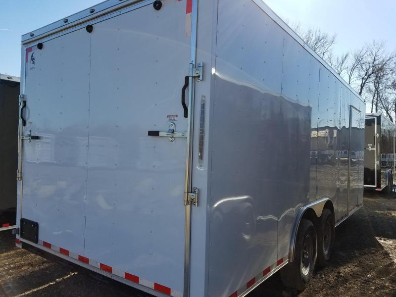 8.5x20 XXL Enclosed Cargo Trailer-7000lb Axles