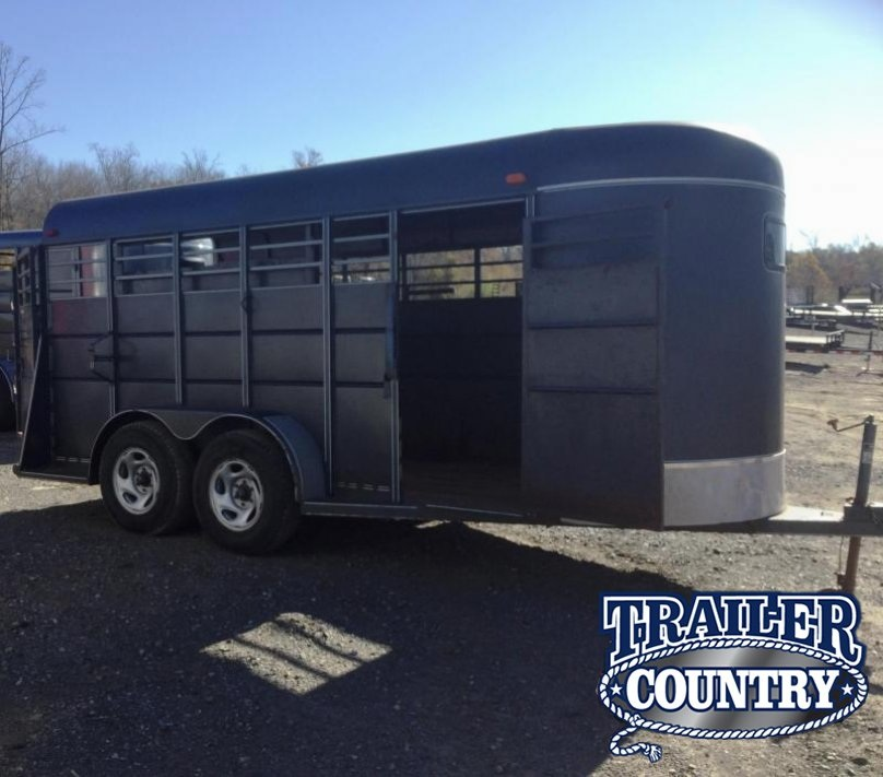 2002 Calico Trailers 16 STOCK BP Livestock Trailer