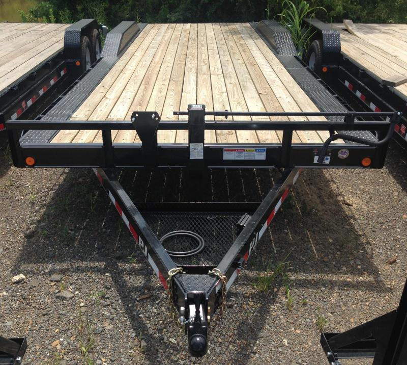 102x24 PJ Superwide Equipment Trailer-CLEARANCE