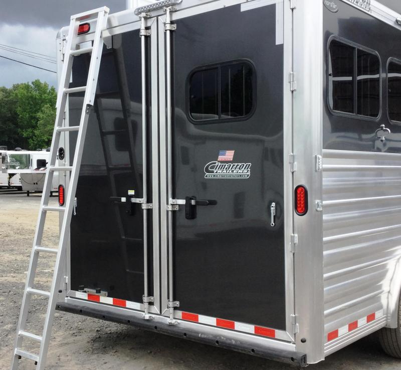 2017 Cimarron Trailers NORSTAR 3H SLANT WITH OUTBACK LIVING QUARTERS Horse Trailer