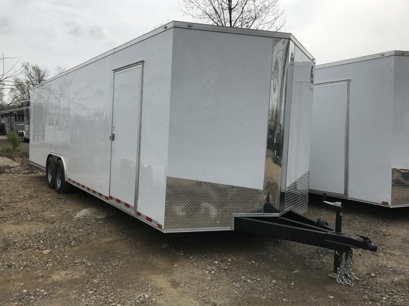 8.5x28 Heavy Duty Enclosed Cargo Trailer-7K Axles