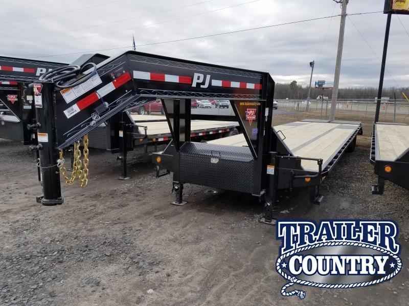 2018 PJ Trailers PJ 102X40 GN Flatbed Trailer